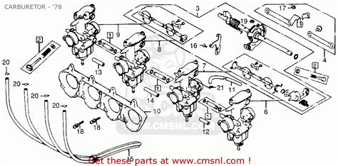 cb750 carburetor diagram cb750 get free image about