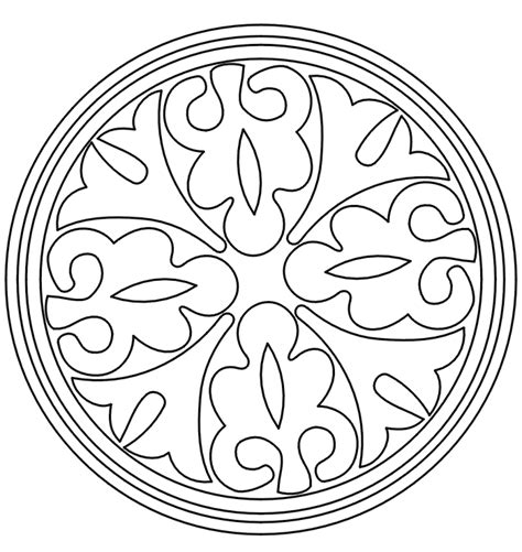 pattern coloring pages coloring home