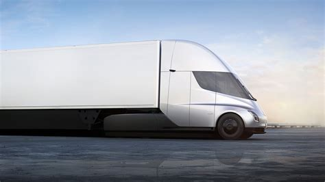 most comfortable semi truck semi tesla
