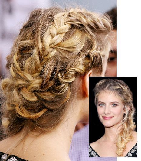 casual hairstyles with braids 162 best images about m 233 lanie laurent on pinterest