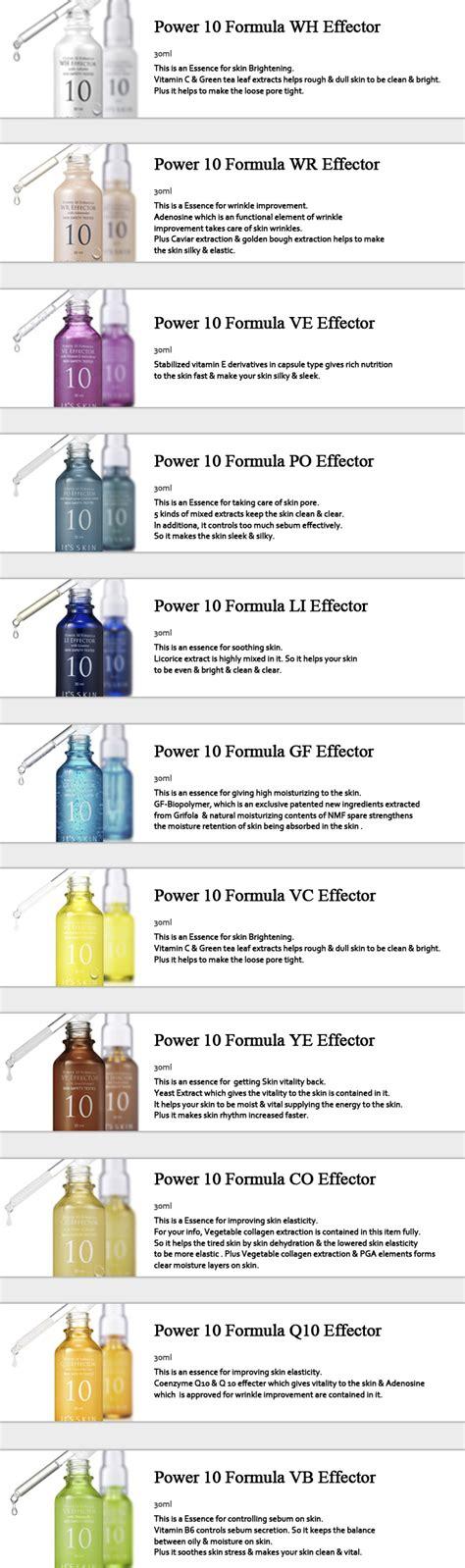 Its Skin Power 10 Formula Line Vc Effector Brightening Serum Essence it s skin power 10 formula wh effector 30ml oule
