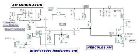 linear integrated circuit am modulator building an am transmitter am 1700 radio richmond