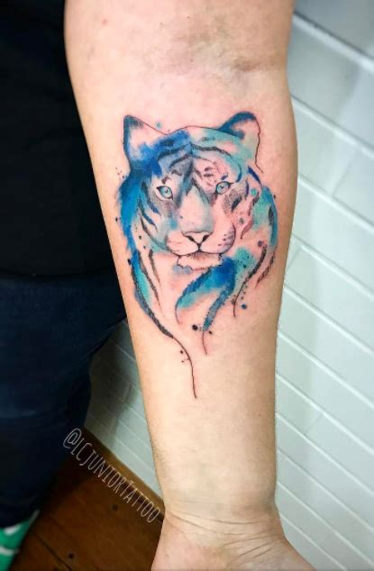 watercolor tattoos reddit watercolor tiger inkstylemag