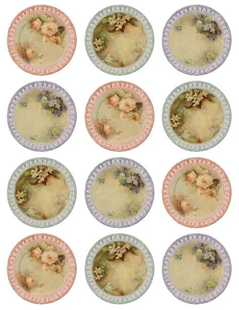 printable paper plates lilac lavender such fine china miniature printable