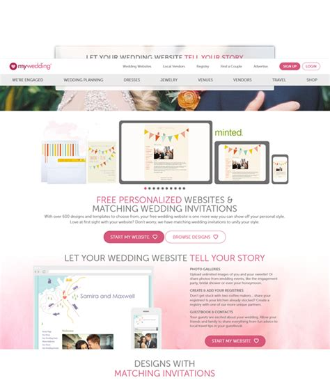 Wedding Websites Free by Top 10 Practical Free Wedding Website You Need To