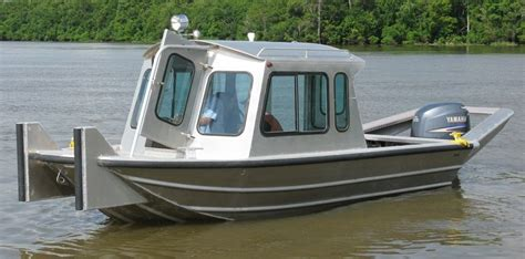 used scully aluminum boats for sale 20 work boats scully s aluminum boats inc