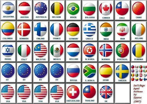 flags of the world pictures with names world flags with names all world flags with names