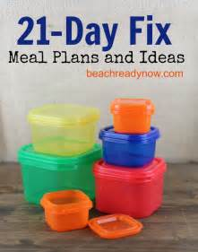 21 day fix meal plans and ideas pictures
