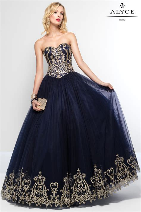 Alyce Paris 6666 Tulle Ball Gown: French Novelty