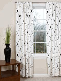 black and white modern curtains 1000 ideas about black white curtains on pinterest