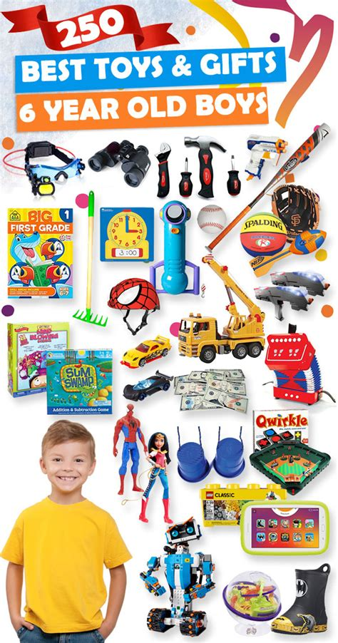 best gifts and toys for 6 year old boys 2018 toy buzz