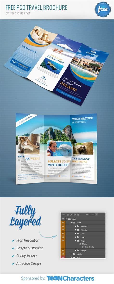 Free Psd Travel Brochure Free Psd Files Brochure Template Psd File Free