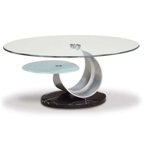 small glass coffee tables create accessible home ideas