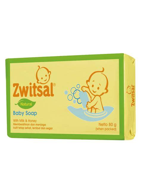 Sabun Zwitsal zwitsal baby sabun mandi batang bar 80g