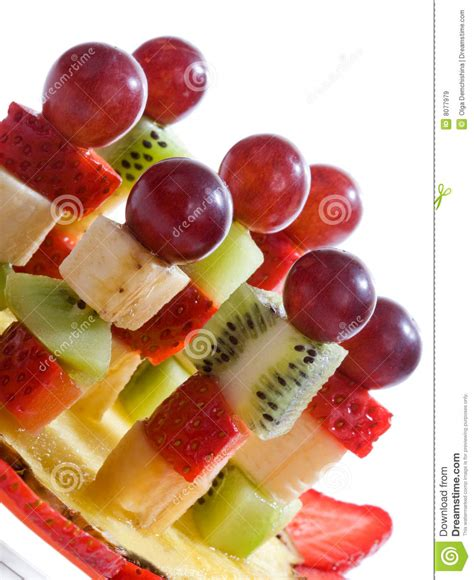 fruit canapes fruit canape royalty free stock images image 8077979
