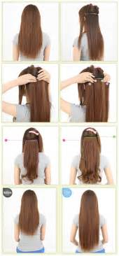 Extension In Hair by Alfa Img Showing Gt Clip In Hair Extensions