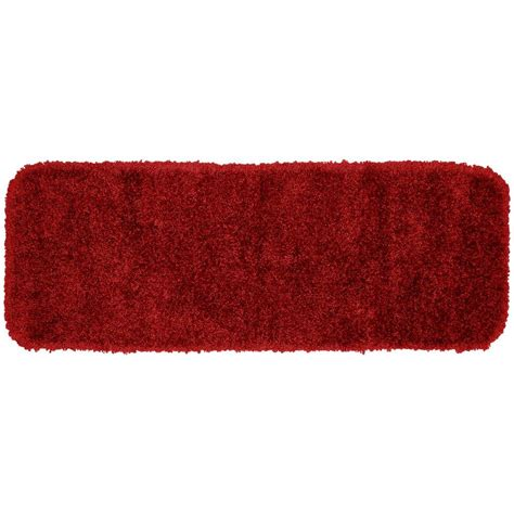 Accent Rugs For Bathroom Garland Rug Serendipity Chili Pepper 22 In X 60 In Washable Bathroom Accent Rug Ser 2260