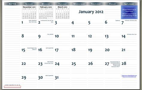 11x17 calendar template word printable 11 x 17 calendar calendar template 2016