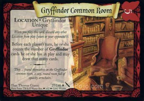 gryffindor common room password image gryffindor common room harry potter trading card jpg harry potter wiki