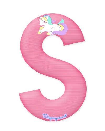 imagenes de unicornios a color letras con unicornios abecedario para descargar gratis