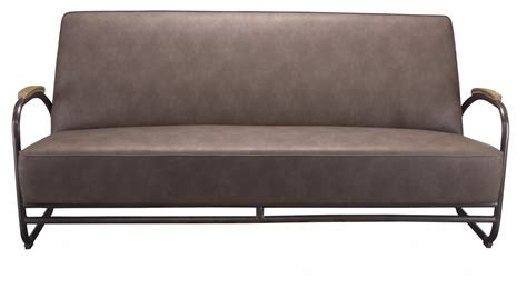 pu sofa sofa miami black metal brown pu