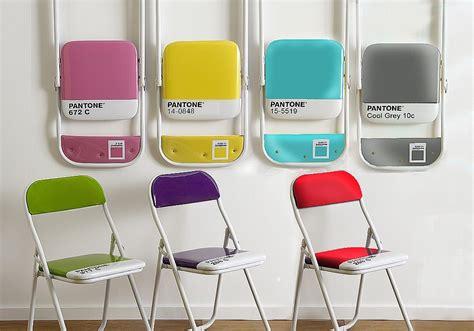 sedia pieghevole pantone sedie pieghevoli design il bestseller pantone chair di