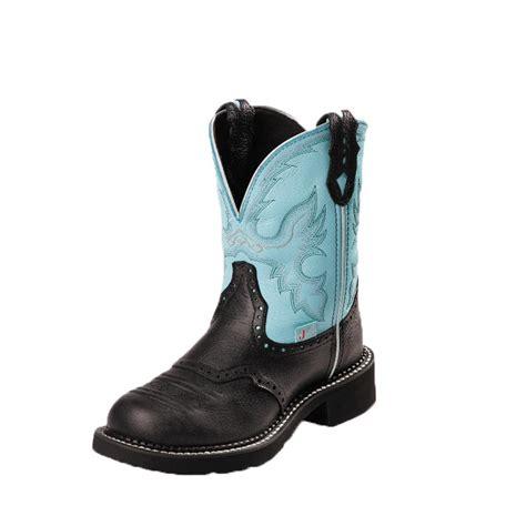 black justin boots justin s black boots