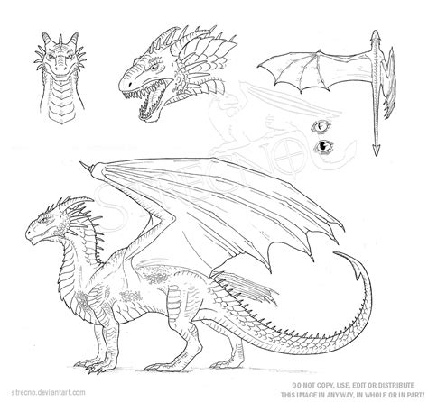 dragon character sheet template by strecno on deviantart
