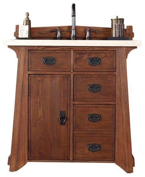 Craftsman Bathroom Vanities by Martin Pasadena 36 Quot Single Vanity Cabinet Cabinet