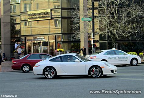 porsche 911 spotted in boston massachusetts on 10 25 2012