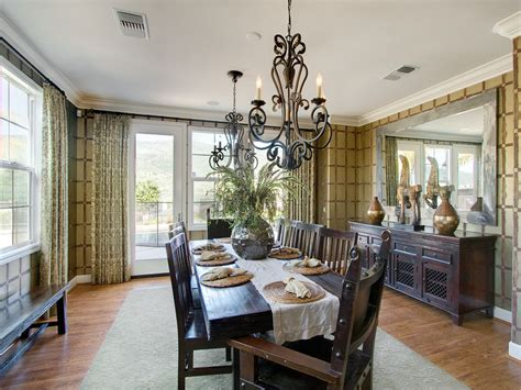 dining room chandelier ideas magnificent mirrored buffet in dining room contemporary