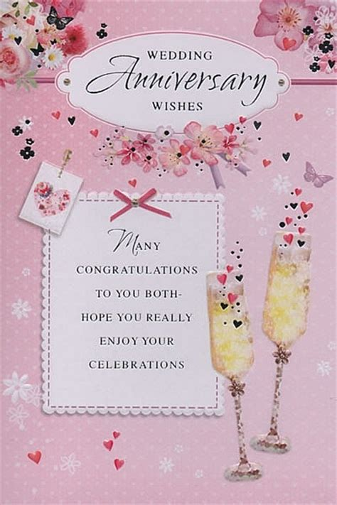 Wedding Anniversary Wishes Uk by Family Anniversary Cards Wedding Anniversary Wishes
