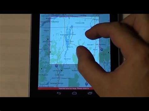 tutorial youtube offline google android how to use offline maps tutorial youtube