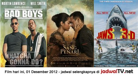 jadwal main film baper rcti jadwal film dan sepakbola 1 desember 2012 jadwal tv