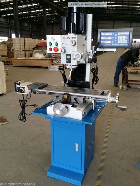 bench top milling machines pm 727m 7x27 quot vertical bench top milling machine 3
