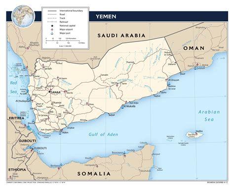 map of yemen cities maps of yemen detailed map of yemen in tourist
