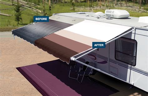 rv patio awning replacement fabric replacement patio awning shadepro