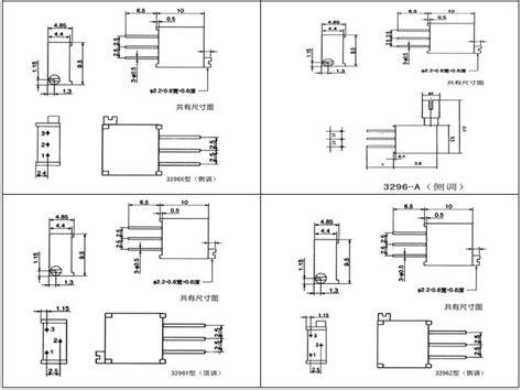 10k preset resistor datasheet b503 pcb mount trimmer potentiometers 3296 bochen buy trimmer potentiometers product on