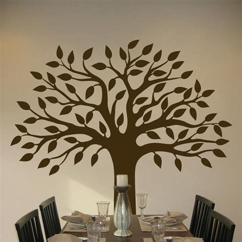 wall sticker tree pretty tree wall decal sticker graphic