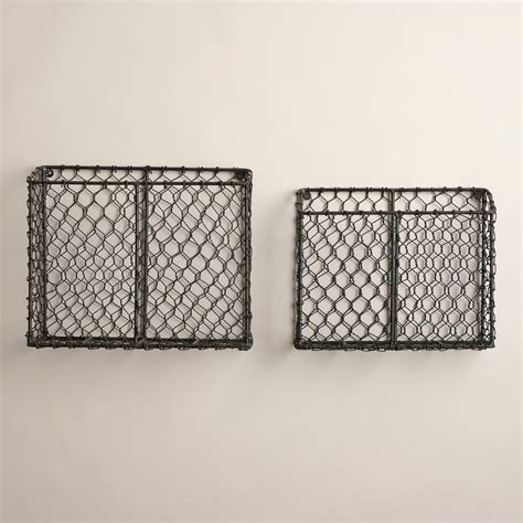 drahtkorb wand wire baskets world market