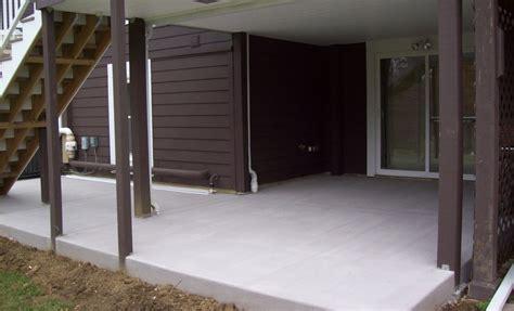 annapolis concrete patio installation maryland curbscape