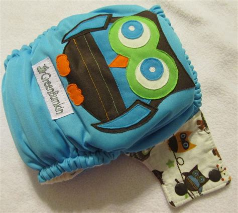 all about cloth diapers boy owl all in one cloth diaper on storenvy