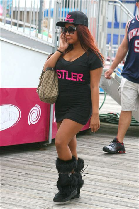 Snooki Wardrobe by Polizzi Pictures Jersey Shore Cast In Seaside