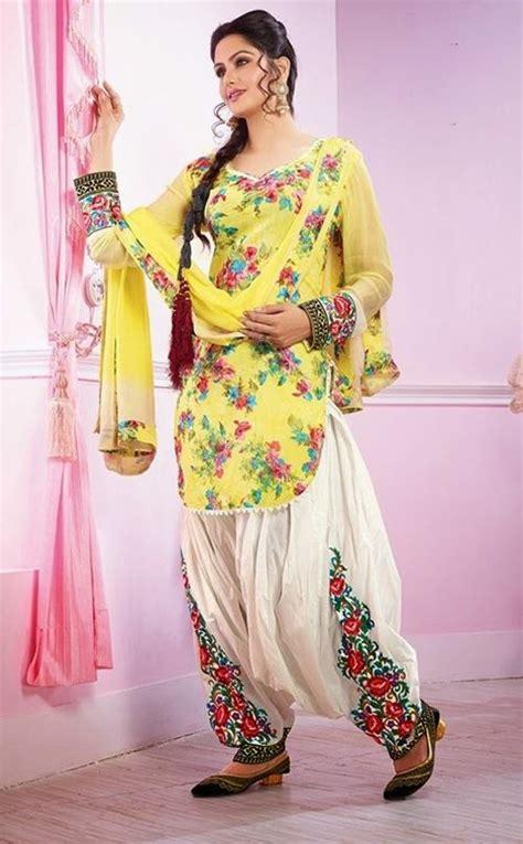 latest punjabi patiala suit designs  patiala suit