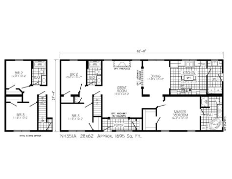 custom plans floor plans for custom homes of haines city manufactured