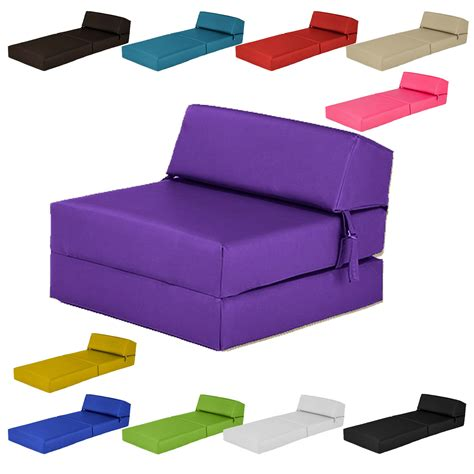 foam fold out sofa single chair bed z faux leather guest fold out futon sofa