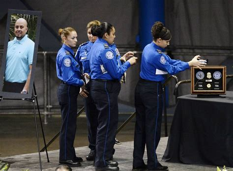 slain tsa officer greeted passengers co workers with