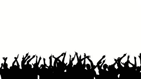 party silhouette party crowd silhouette royalty free video and stock footage