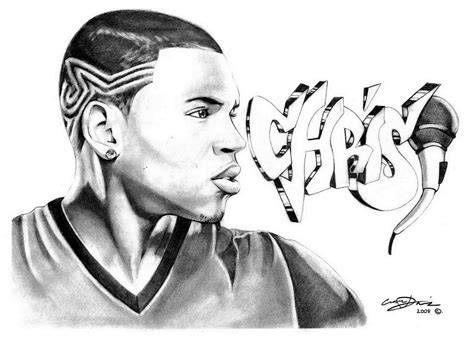 Chris Brown Exclusive By Princedamian92 On Deviantart Chris Brown Coloring Pages