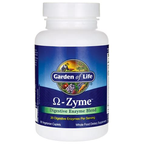 Garden Of Omega Zyme Powder Garden Of Omega Zyme 90 Cplts Swanson Health Products